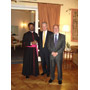 Ambassador Ritto, First Counsellor R. Moulinier and Mgr Fortunatus Nwachukwu, Vatican Chief of Protocol