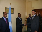 First EU Ambassador to Somalia presents his credentials