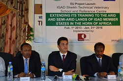 EU hands over Sheikh Technical Veterinary School to IGAD