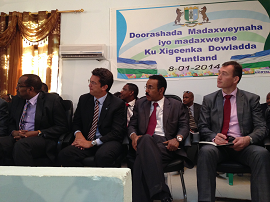EU Special Envoy congratulates Abdiweli Gaas for his election as President of Puntland State of Somalia