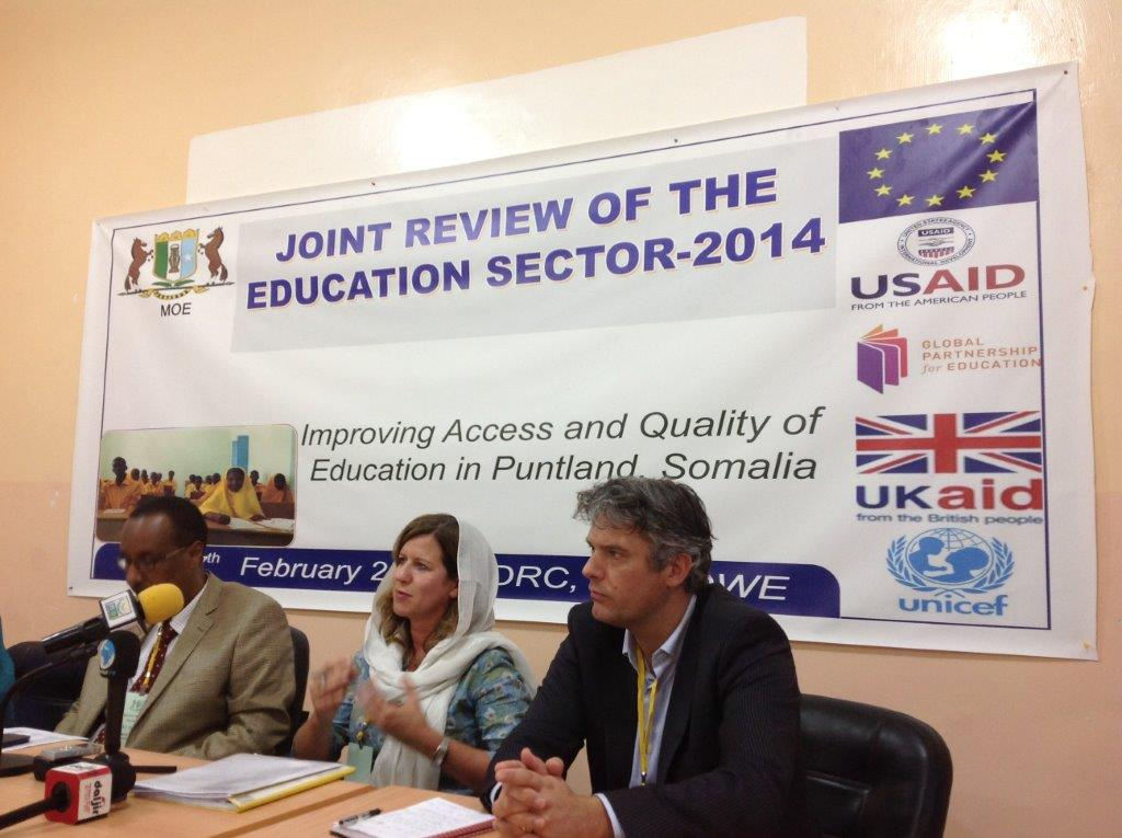 EU participates in the 2014 Joint Education Sector Review