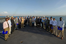 European Union Ambassadors meet Puntland's President for talks on maritime priorities