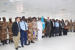 EUCAP Nestor ends its flagship basic training and port control courses for Somali participants in Djibouti