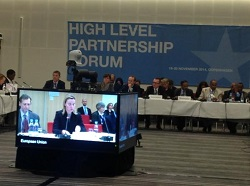 High level Parternship Forum - Copenhagen: 19-20 November 2014