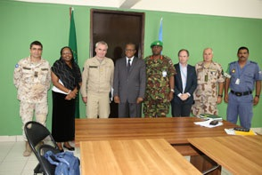Director General of the European Union military staff visits Somalia