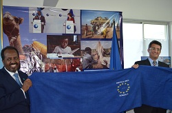 First Europe Day in Mogadishu