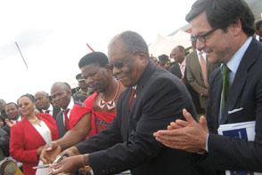EU provides E200 million to support access to clean water for rural communites in Swaziland