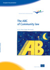 The ABC of community law by Dr. Klaus-Dieter Borchardt
