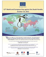 13th World and Europe Day Against the Death Penalty