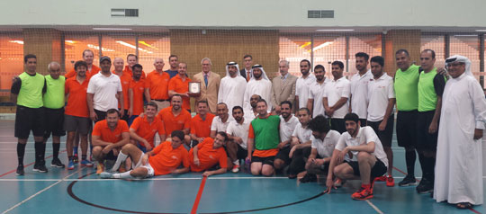Friendly Football Game Between the UAE Ministry of Foreign Affairs and the EU Delegation and EU Member States