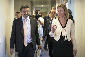 HR/VP Federica Mogherini meets Sheikh Abdullah bin Zayed Al Nahyan, Minister of Foreign Affairs of the United Arab Emirates