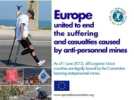 Europe united to end the suffering caused by anti‐personnel mines