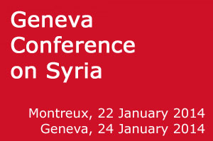 EU participated in the Geneva II peace conference on Syria