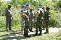 EUSSR Guinea Bissau members with local militaries
