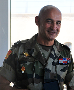 Major General Philippe Pontiès (Operation Commander)