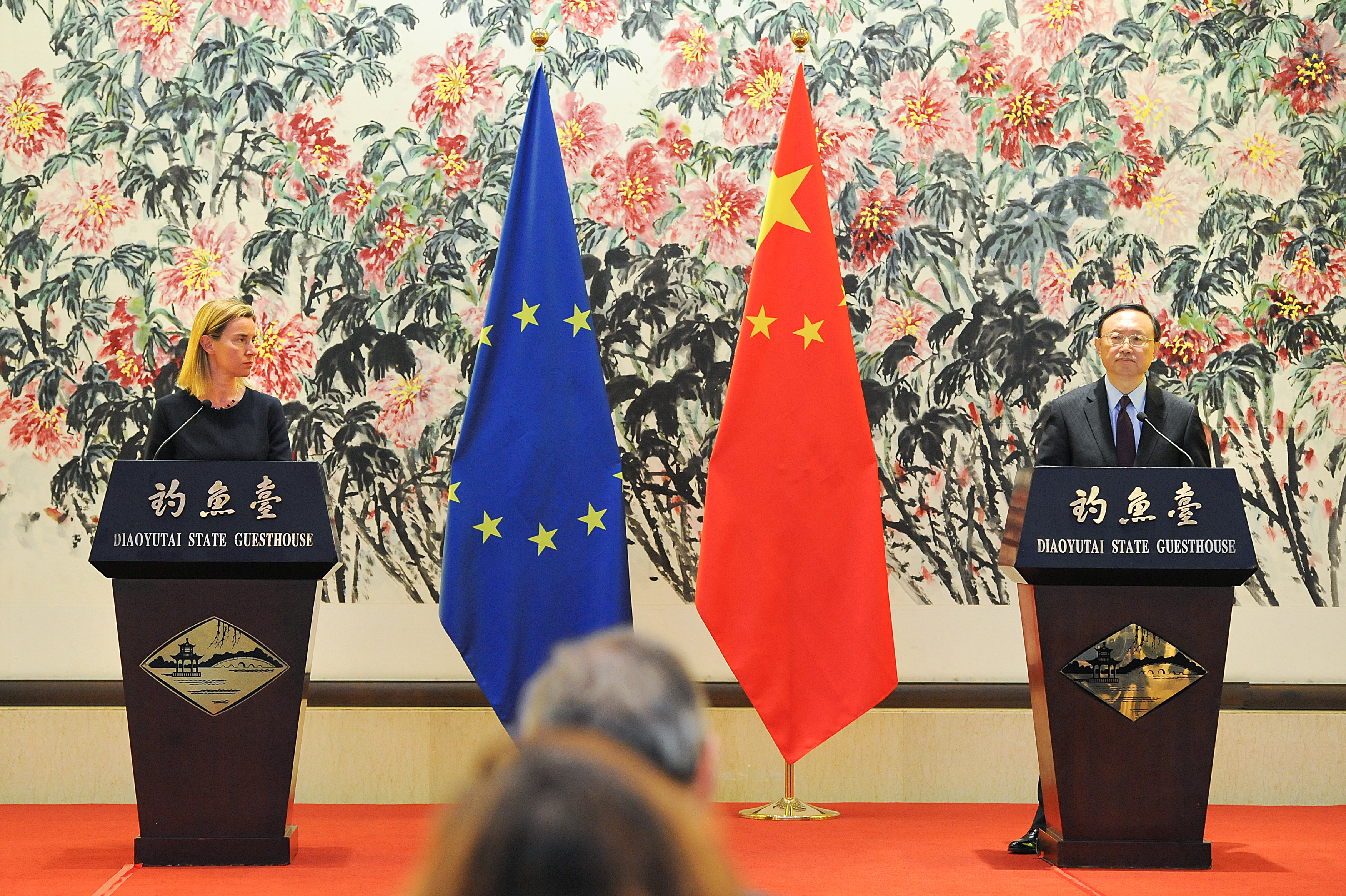 G20 Summit, Brisbane 2014: bilateral meeting between Jean-Claude JUNCKER, President of the EC, and XI Jinping, Chinese President