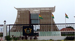 Flagstaff House is the presidential palace in Accra, and serves as a residence and office to the President of Ghana