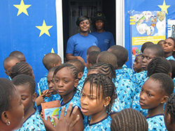 EU visibility drive at Lagos International Trade Fair