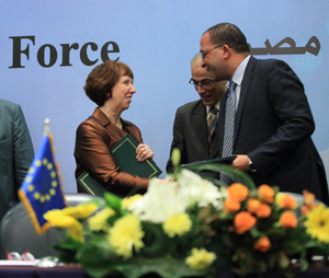 EU-Egpyt Task Force Signing Ceremony