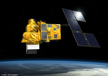 Helios 2b satellite  ©CNES/Mira productions