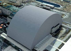 Chernobyl's New Safe Confinement once completed © EBRD