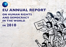 Front cover of EU Human Rights Report © EU