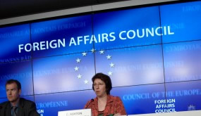 Catherine Ashton at FAC © EU
