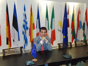 Samir M.Gharbaoui, Spanish JED participant in the delegation in Tunisia
