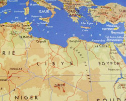 map Libya  © Fotolia