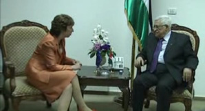 HR Ashton meeting with Mahmoud ABBAS