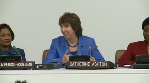 "Catherine ASHTON attends ""Women & Political Participation"" High Level UN Women event - 19/09/2011"