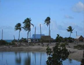 Water intrusion in Kiribati ©EU