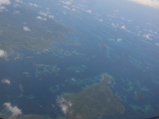 An aerial view of the Solomon Islands ©EU