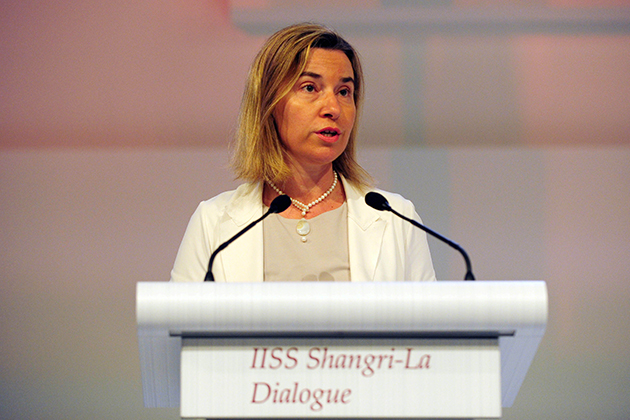 Federica Mogherini at the 14th Asian Security Summit - the Shangri-la Dialogue