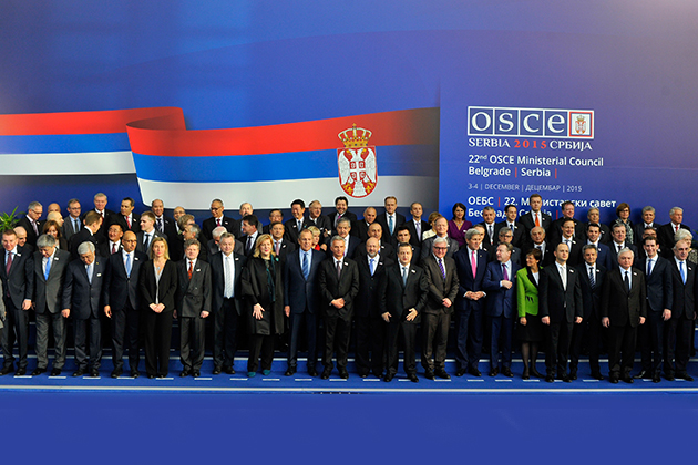 OSCE Ministerial Council in Belgrade