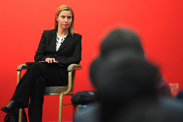 HR/VP Federica Mogherini during her first official visit to Asia