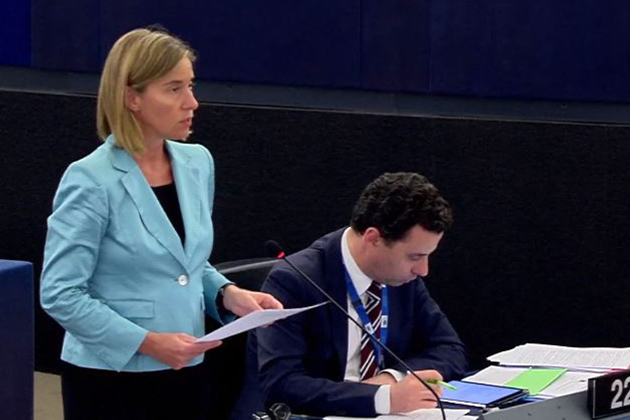 Mogherini at the EP