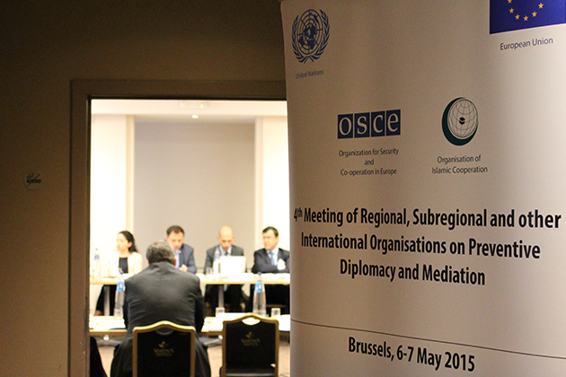 4th Meeting of Regional, Subregional and other International Organisations on Preventive Diplomacy a