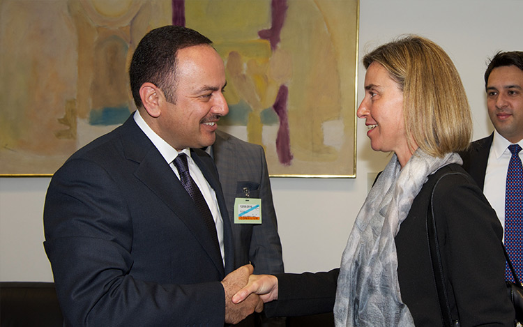 Mogherini chairs ministers' meeting with Afghan Minister of Finance