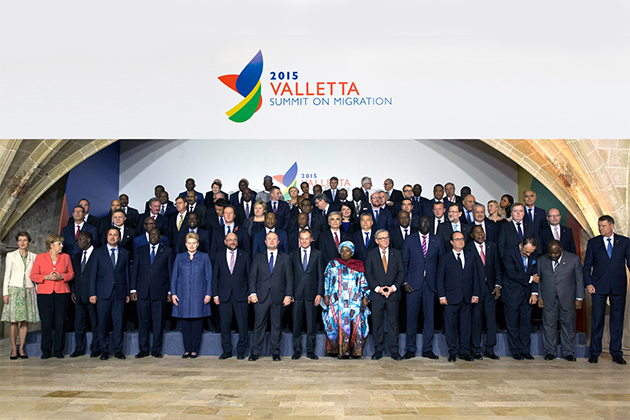 Valletta Summit 2015 family photo