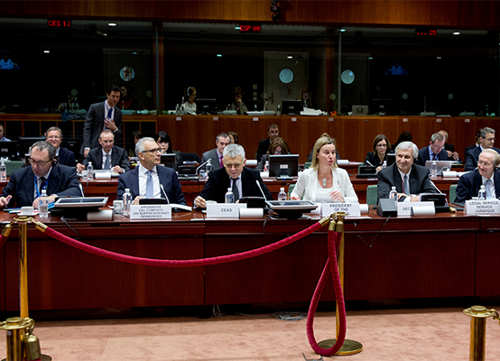 Federica Mogherini chairs Foreign Affairs (Development) Council