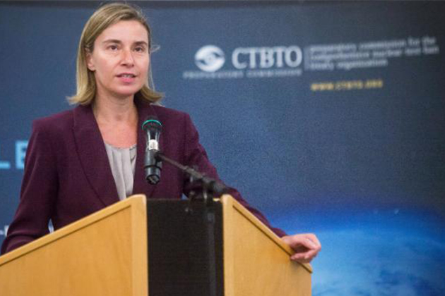 Federica Mogherini at the CTBTO Ministerial meeting in Vienna