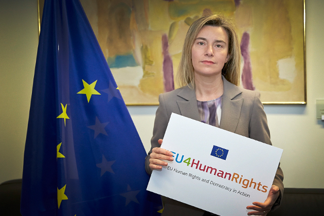 Federica Mogherini announces #EU4HumanRights initiative