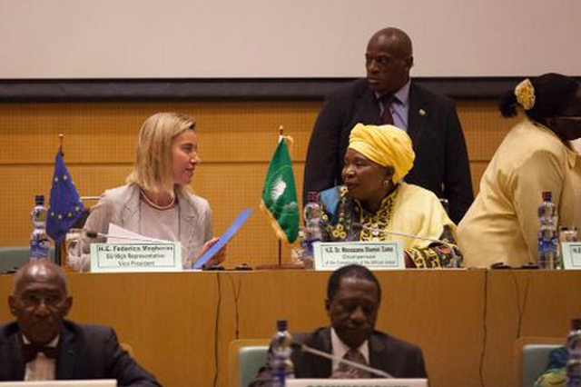 Visit by Federica Mogherini, Member of the EC, to Ethiopia