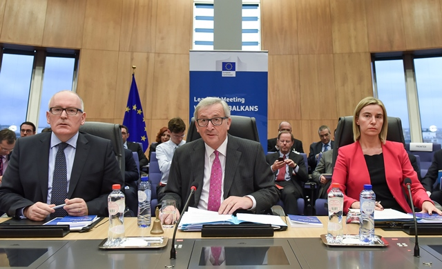 Leaders' Meeting on refugee flows along the Western Balkans Route