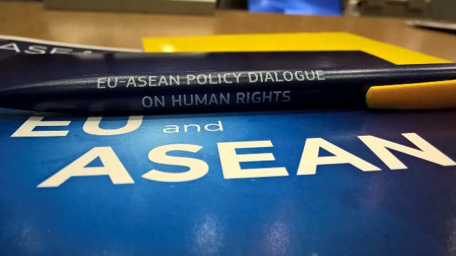 EU-ASEAN policy dialogue on human rights