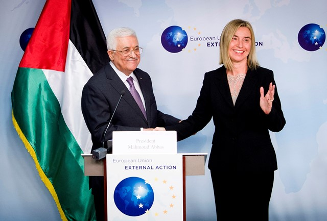 Mr Mahmoud ABBAS AND Ms Federica MOGHERINI