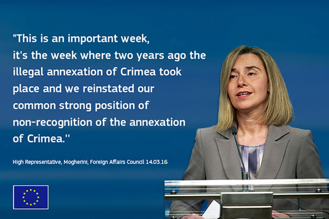 Illegal annexation of Crimea by Russian Federation