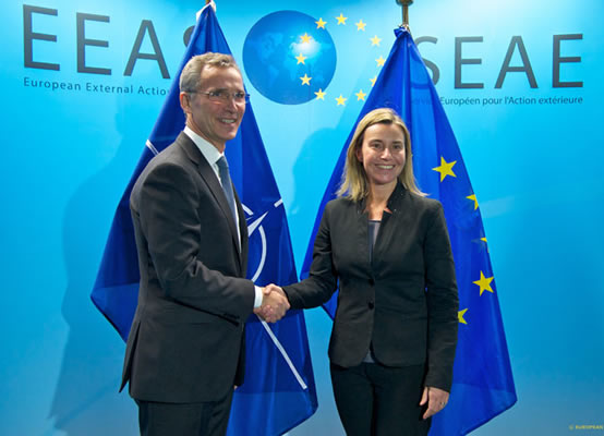 High Representative/Vice President Mogherini meets Quartet envoys and NATO Secretary-General