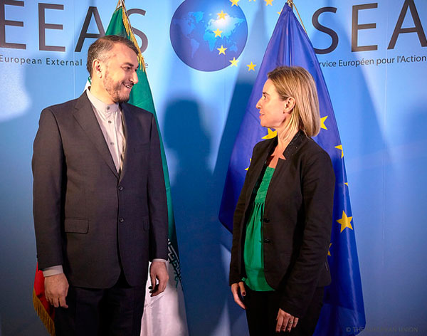 High Representative Mogherini welcomes delegation from Iran